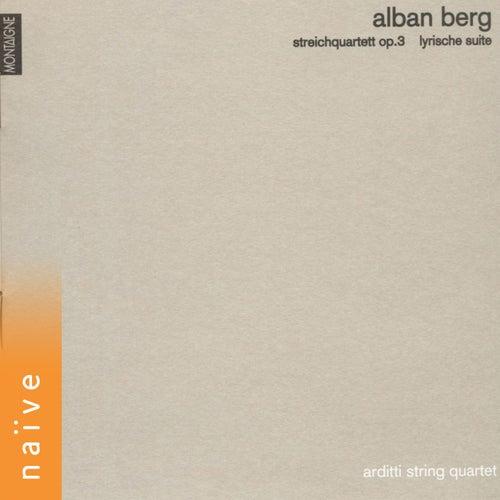 Alan Berg: Streichquartett, Op. 3 & Lyrische Suite by Arditti String Quartet