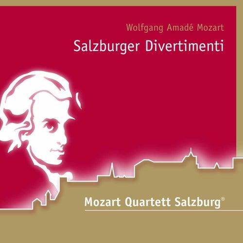 Mozart: Salzburger Divertimenti von Salzburg Mozart Quartet