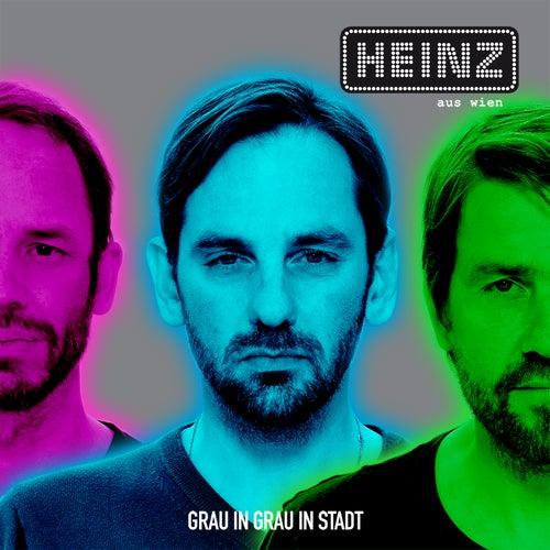 Grau in Grau in Stadt by Heinz aus Wien