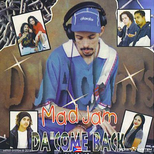 Dj Adam  Mad Jam  Vol 2 Da Come Back de Various Artists