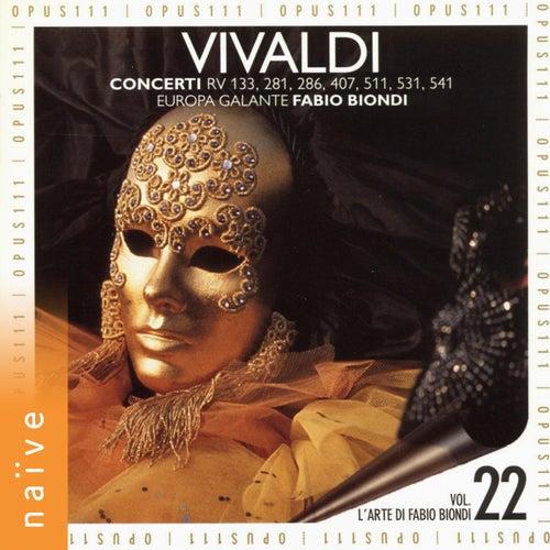 Vivaldi: Concerti di Europa Galante Fabio Biondi