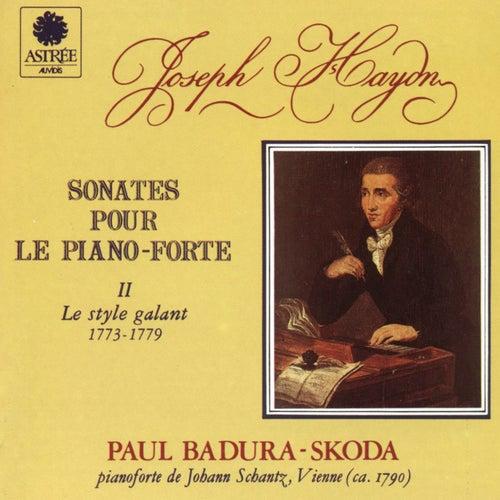 Haydn: Sonates pour le piano-forte, Vol. 2 (Le style galant) by Paul Badura-Skoda