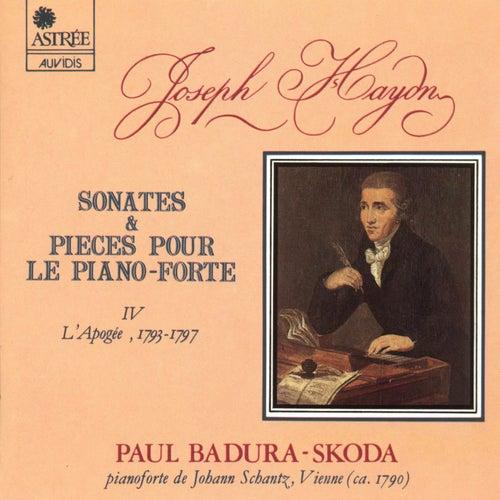 Haydn: Sonates & pièce pour le piano-forte, Vol. 4 (L'apogée) by Paul Badura-Skoda