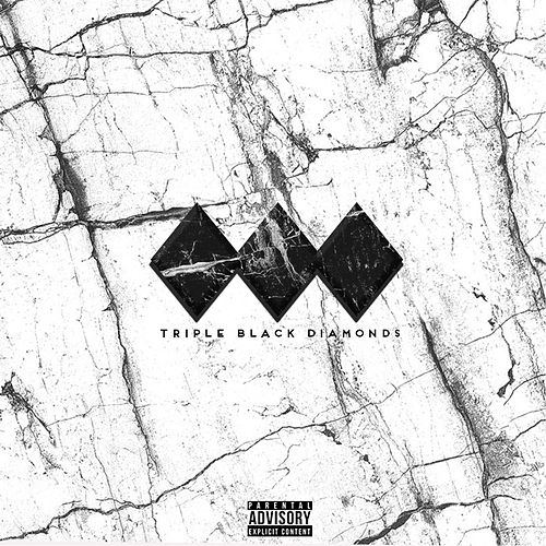 Triple Black Diamonds by Estee Nack