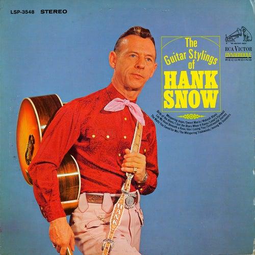 The Guitar Stylings of Hank Snow de Hank Snow