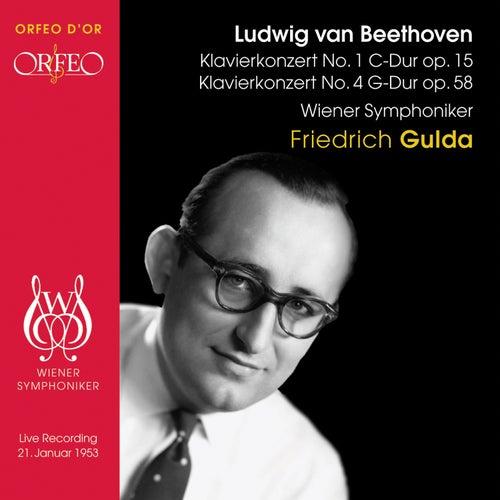 Beethoven - Piano Concertos Nos. 1 & 4 by Friedrich Gulda