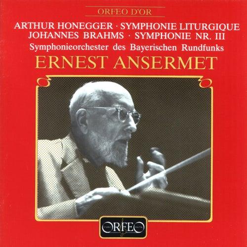 Honegger: Symphony No. 3, H 186 'Liturgique' - Brahms: Symphony No. 3 in F Major, Op. 90 von Symphonie-Orchester des Bayerischen Rundfunks