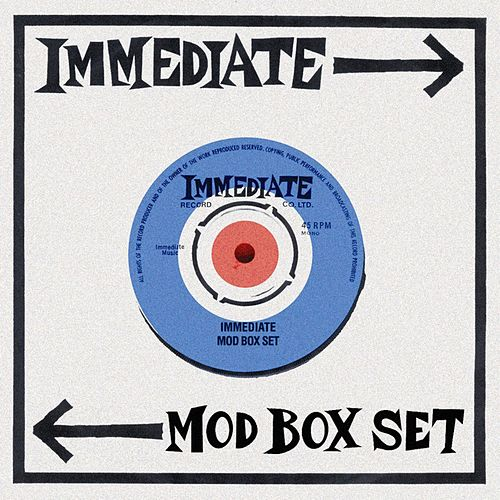 The Immediate Mod Box Set by Various Artists