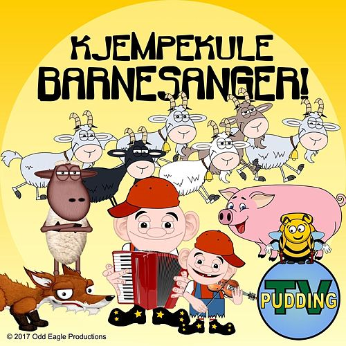 Kjempekule Barnesanger! de Pudding-TV