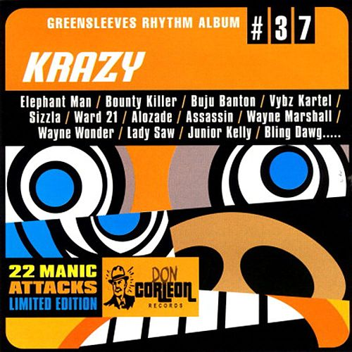 Greensleeves Rhythm Album #37: Krazy by Various Artists