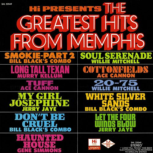 Greatest Hits from Memphis von Various Artists