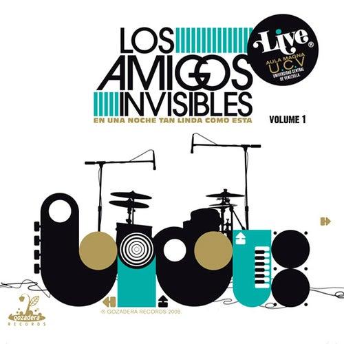 Live En Una Noche Tan Linda Como Esta Vol 1 de Los Amigos Invisibles
