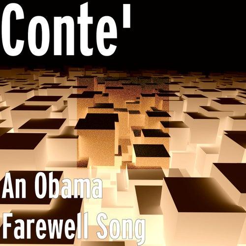 An Obama Farewell Song de Conte