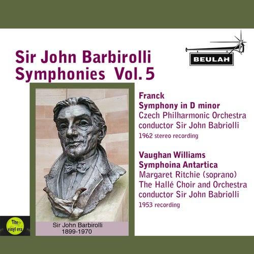 Sir John Barbirolli Symphonies, Vol. 5 de Sir John Barbirolli