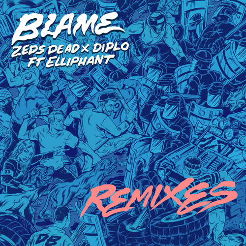 Blame (Remixes) de Various Artists