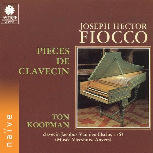 Fiocco: Pièces de clavevin by Ton Koopman