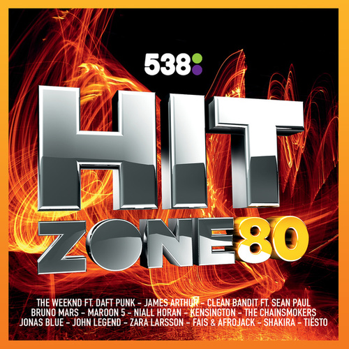538 Hitzone 80 van Various Artists