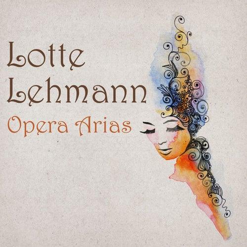 Treasury of Opera de Lotte Lehmann