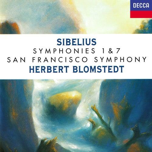 Sibelius: Symphonies Nos. 1 & 7 de Herbert Blomstedt