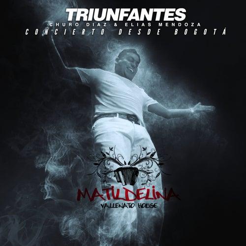 Triunfantes (En Vivo) von Churo Diaz & Elias Mendoza