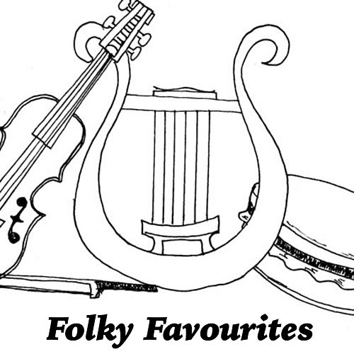 Folky Favourites by Various Artists