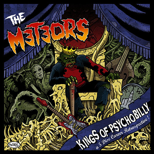 Kings of Psychobilly ~ a 5 Disc Career de The Meteors