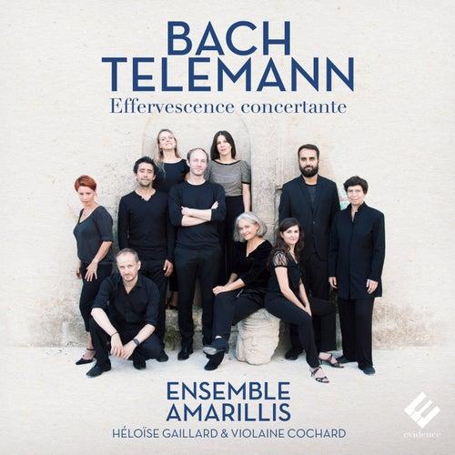 Bach & Telemann: Effervescence concertante by Ensemble Amarillis