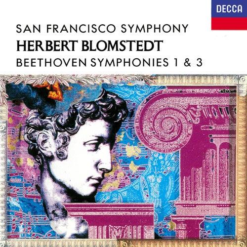 Beethoven: Symphonies Nos. 1 & 3 de Herbert Blomstedt