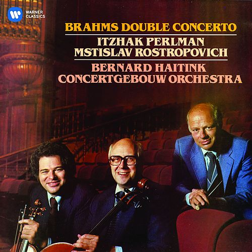 Brahms: Double Concerto, Op. 102 by Mstislav Rostropovich