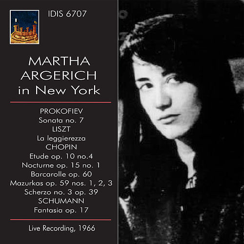 Martha Argerich in New York, 1966 (Live) by Martha Argerich