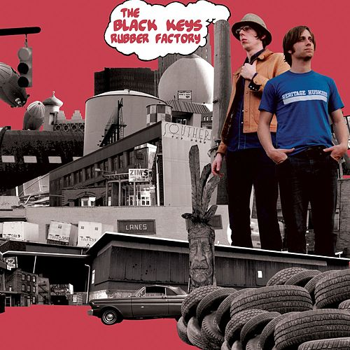 Rubber Factory von The Black Keys