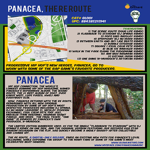 The Re-Route von Panacea (Hip-Hop)