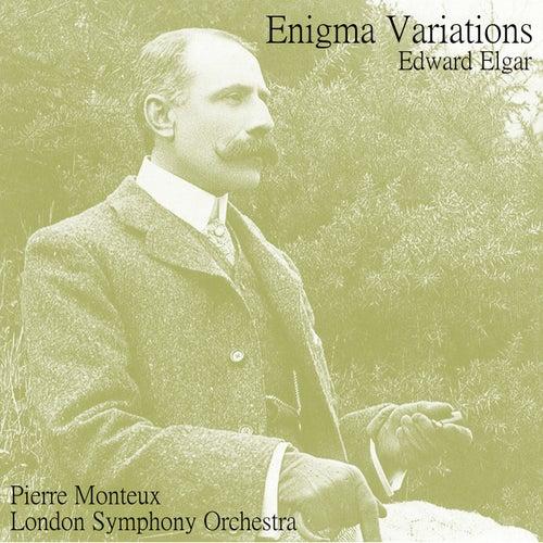Elgar: Variations on an Original Theme, op.36 'Enigma' de Pierre Monteux