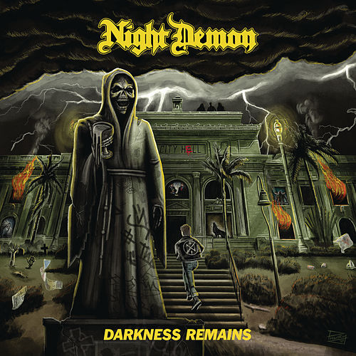 Darkness Remains (Deluxe Edition) by Night Demon