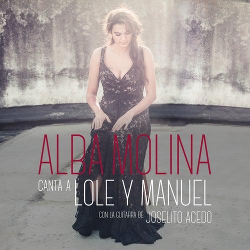 Alba Molina Canta A Lole Y Manuel de Alba Molina