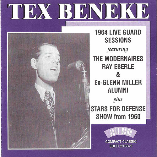 1964 Live Guard Sessions/Stars for Defense Shows from 1960 by Tex Beneke