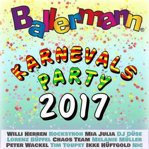 Ballermann Karnevalsparty 2017 von Various Artists