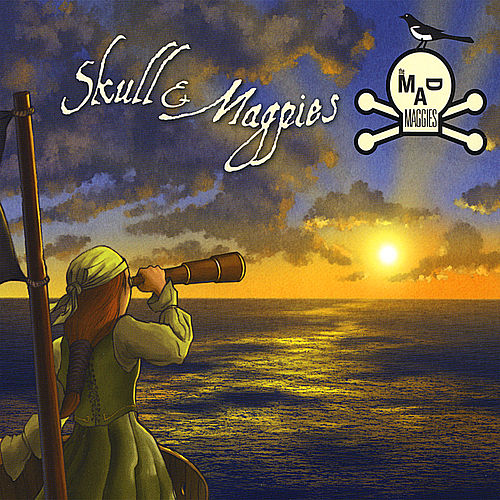 Skull & Magpies by the Mad Maggies