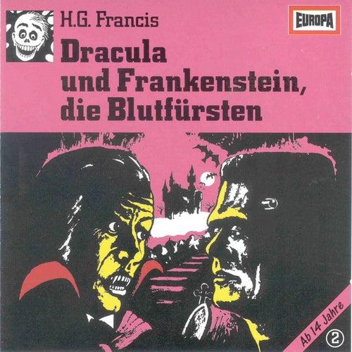 002/Dracula und Frankenstein, die Blutfürsten by Gruselserie