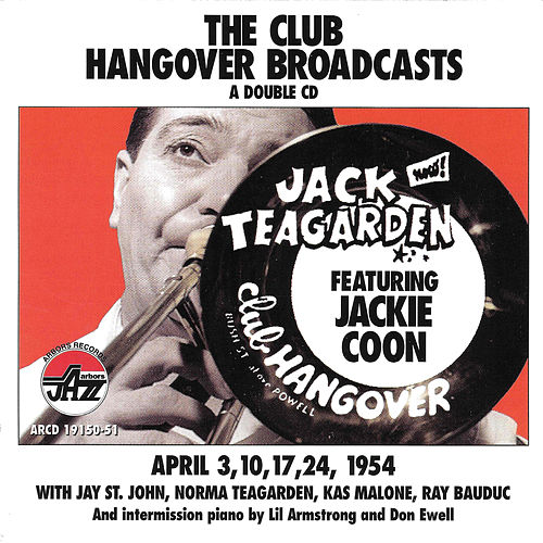 Club Hangover Broadcast With Jackie Coon de Jack Teagarden