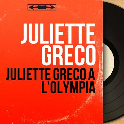 Juliette Gréco à l'Olympia (Live, Mono Version) von Juliette Greco