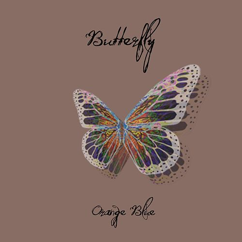 Butterfly von Orange Blue