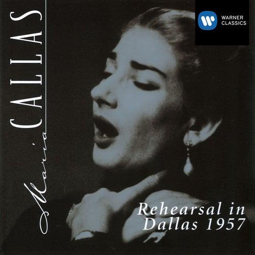 Maria Callas in Rehearsal in Dallas 1957 von Maria Callas