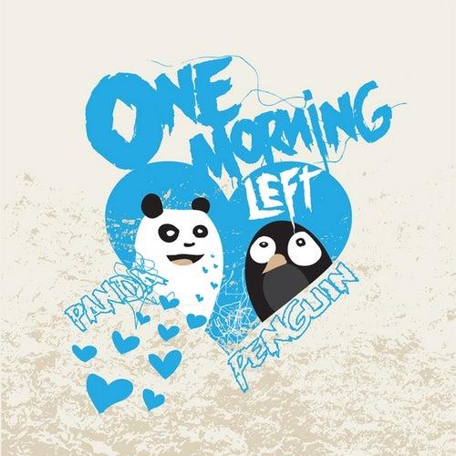 Panda <3 Penguin by One Morning Left