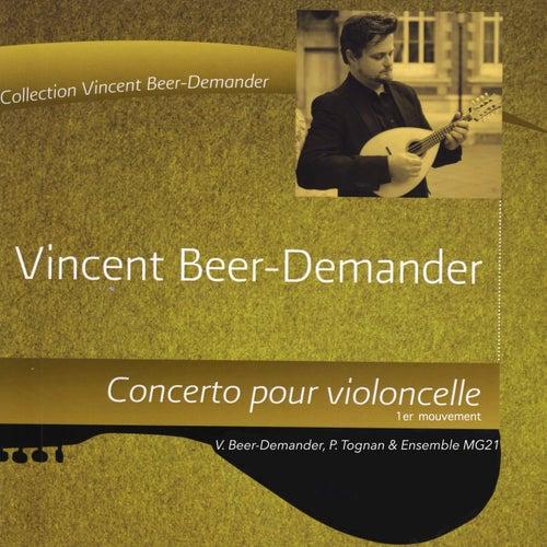 L'âme de fond, concerto pour violoncelle, 1er mouvement de Ensemble MG21 Vincent Beer-Demander