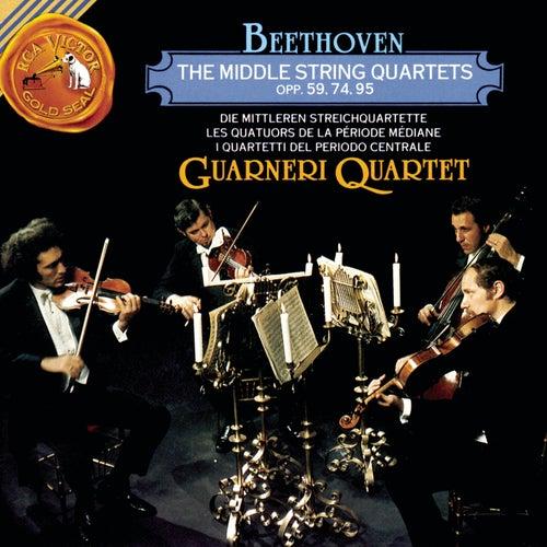 The Middle String Quartets, Op. 59, 74, 95 de Ludwig van Beethoven