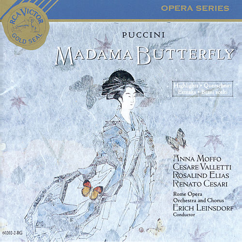 Madame Butterfly Hits by Giacomo Puccini