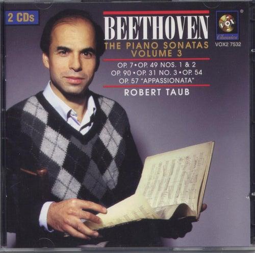 Beethoven: The Piano Sonatas Volume Iii de Robert Taub