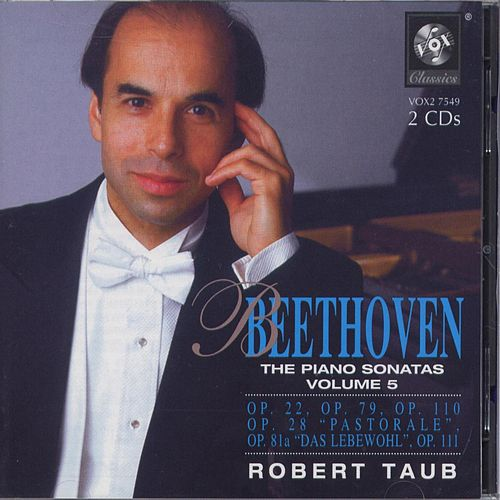 Beethoven: The Piano Sonatas Volume V de Robert Taub