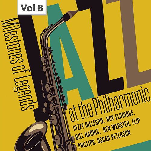 Milestones of Legend - Jazz at the Philharmonic, Vol. 8 de Oscar Peterson